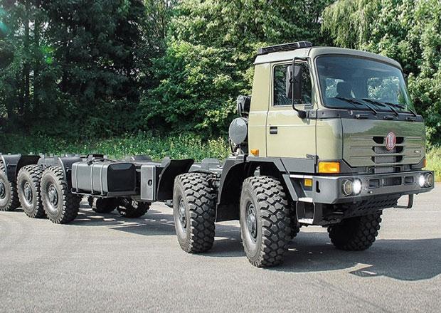 Tatra zah�jila dod�vky sad k fin�ln� mont�i vozidel do Indie