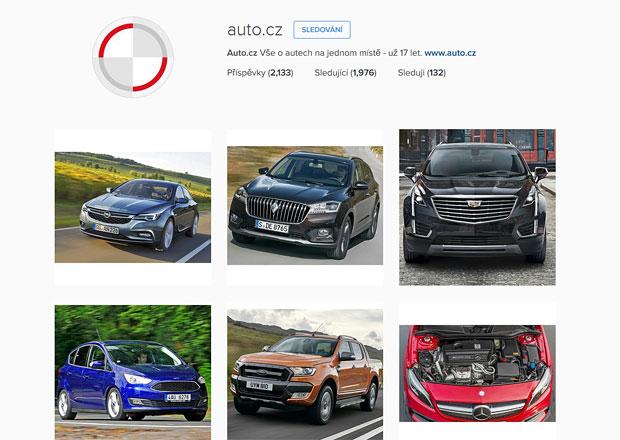 Instagram Auto.cz: Máme přes 2000 followerů, sdílejte fotky z autosalonu ve Frankfurtu!