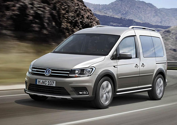 Volkswagen Caddy Alltrack: N�stupce Cross Caddy