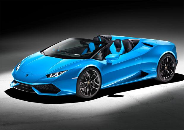 "Lamborghini Huracán Spyder: Otevřená verze malého ""Lamba"" se odhalila"