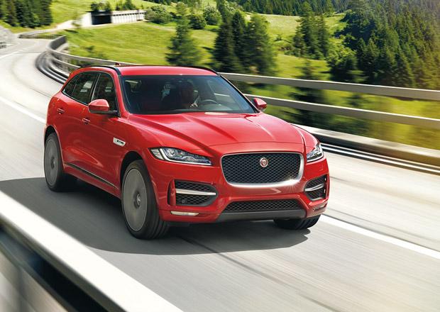 Jaguar F-Pace: Kočka míří oficiálně do terénu
