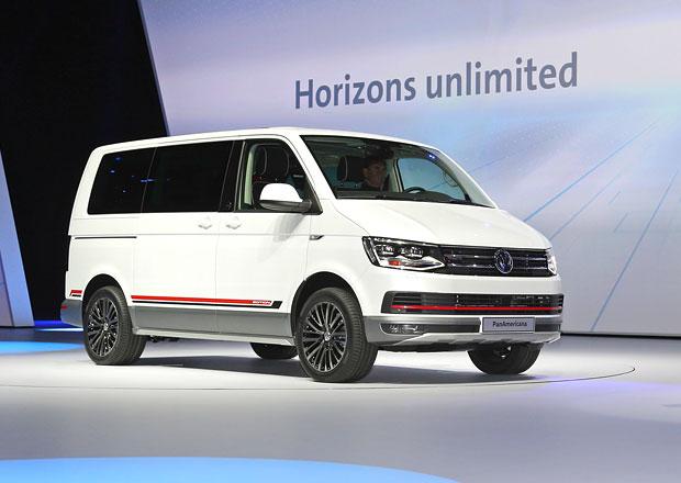 Volkswagen Multivan PanAmericana Concept: Pro dobrodruhy i motorkáře
