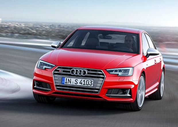 Audi S4 2016: Nový turbem přeplňovaný šestiválec dává 260 kW (+video)