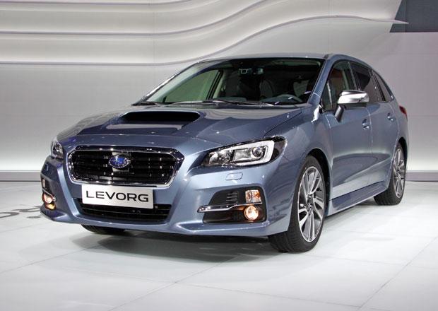 Nové Subaru Levorg živě