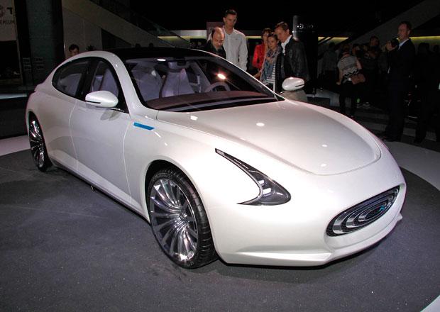 Thunder Power je taiwanský elektrický sedan s fantastickým interiérem