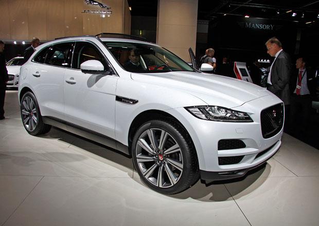 Jaguar F-Pace živě: Kočka povyrostla (+video)