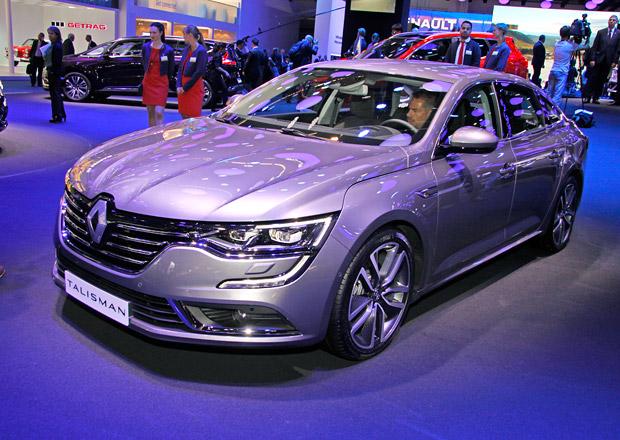 Renault Talisman živě: Otočte list