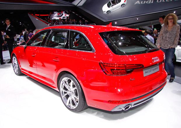 Audi A4 Avant �iv�: Evoluce v designu, revoluce v prostoru