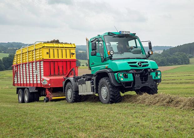Mercedes-Benz Arocs a Unimog jako zemědělští specialisté
