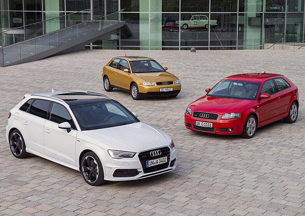 Audi A3: Luxusnímu kompaktu je dvacet let