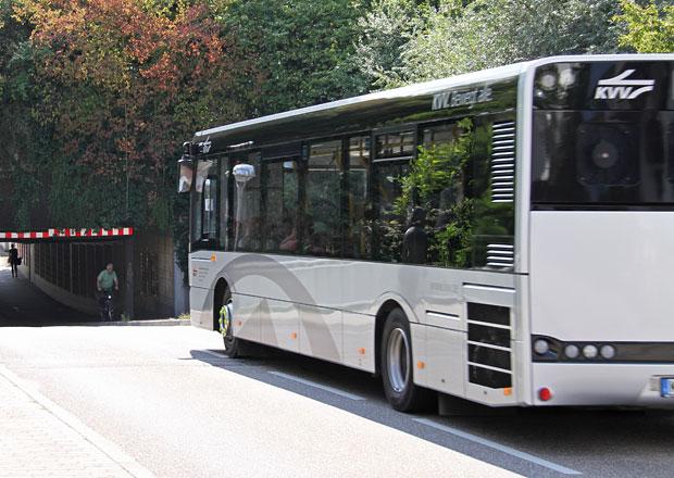 Solaris snižuje autobusy pro Karlsruhe