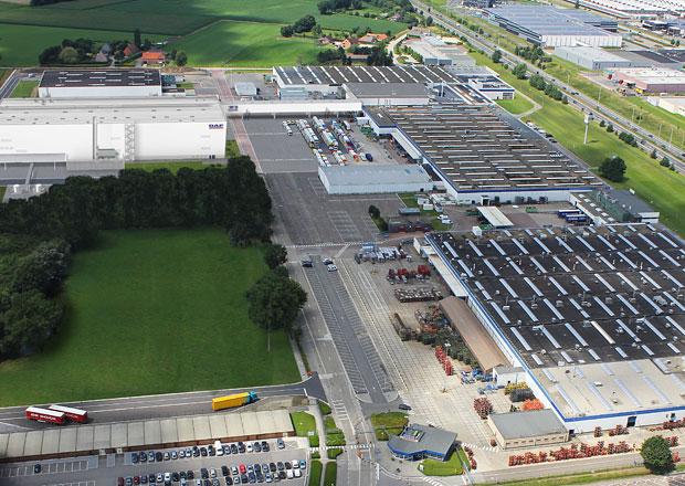 DAF investuje v Belgii
