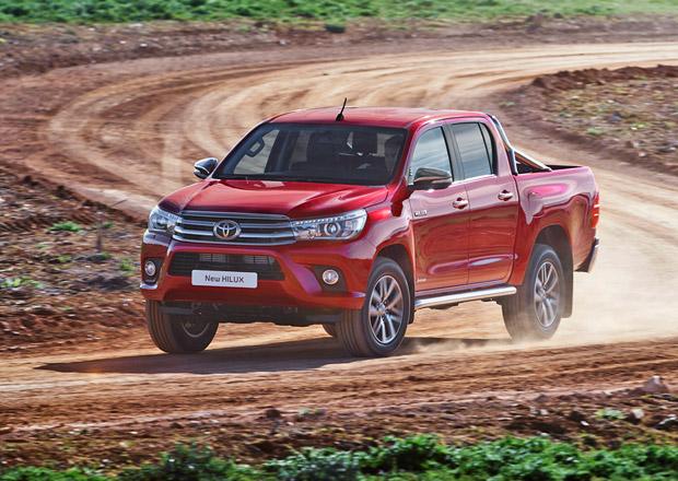 Toyota Hilux osmé generace pro Evropu