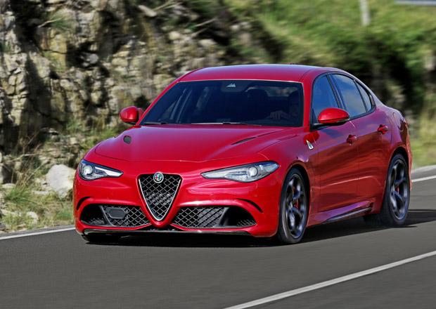 Alfa Romeo Giulia: Vrcholem b�n�ho modelu bude naftov� �estiv�lec