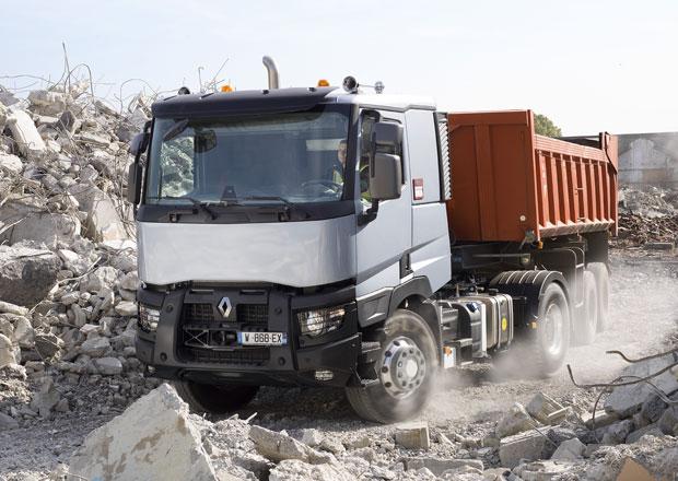 Pomocné pohony předních kol: Renault Trucks - Optitrack