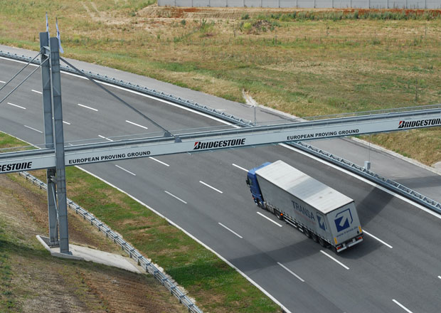 Zkušební polygon Bridgestone: Na evropské půdě