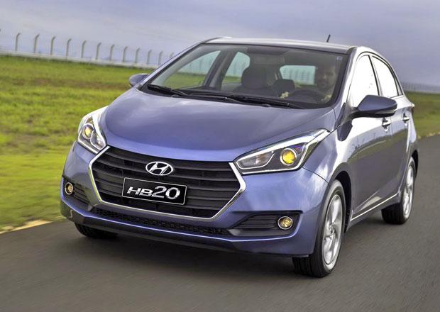 Hyundai HB20: Ostřejší maska a úspornější motory