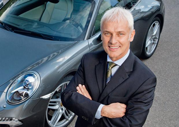 Novým šéfem Volkswagen Group má být Matthias Müller