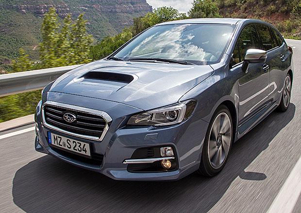 Subaru Levorg: Podvozek z d�len g�nia (+video)