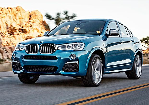 BMW X4 M40i oficiálně: 360 koní a stovka pod 5 sekund, v Česku od února 2016