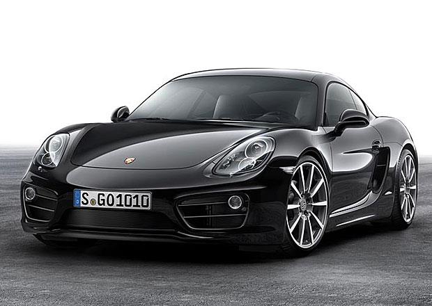 Porsche Cayman Black Edition: Malé černé