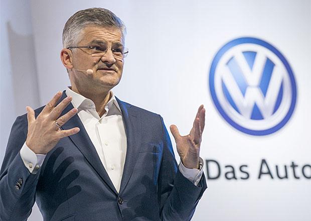 Šéf amerického zastoupení Volkswagenu stane před komisí kvůli Dieselgate
