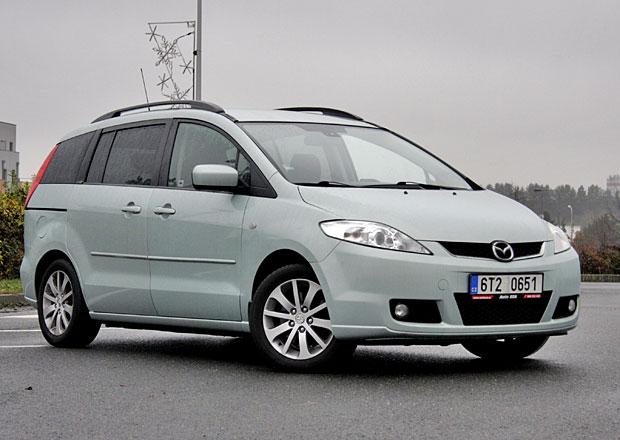 Ojetá Mazda 5: Škoda té koroze