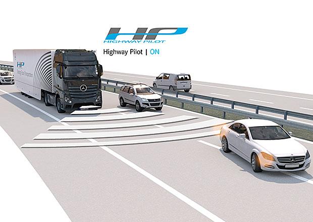 Video: Mercedes-Benz Actros s autonomním řízením poprvé v běžném provozu