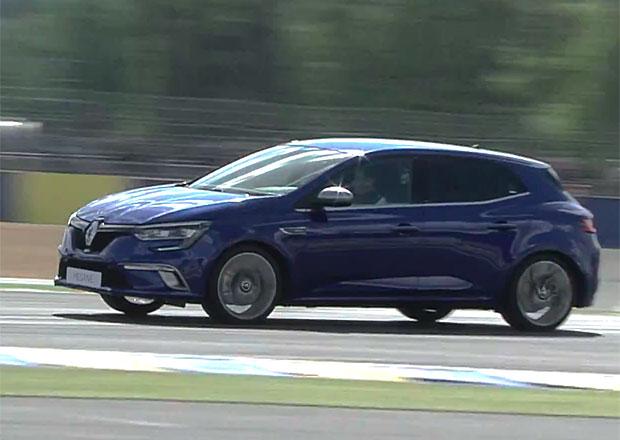 Video: Renault Mégane GT jezdí na okruhu v Le Mans