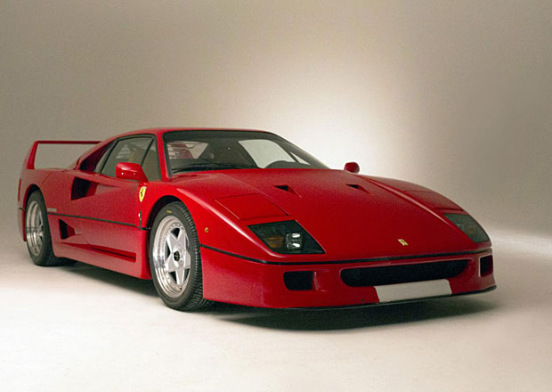 Ferrari F40 Francise Johna Connollyho m��� do aukce
