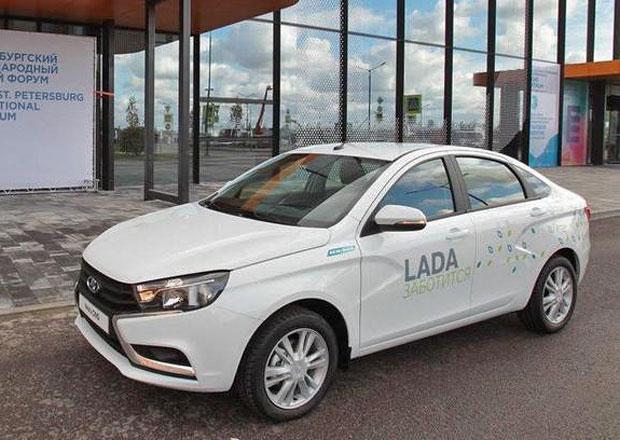 Lada Vesta umí spalovat CNG, zatím jako prototyp