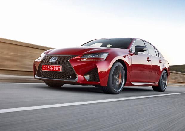 Lexus GS F: Atmosf�rick� supersedan d�v� v�ce smyslu ne� M5 (video)