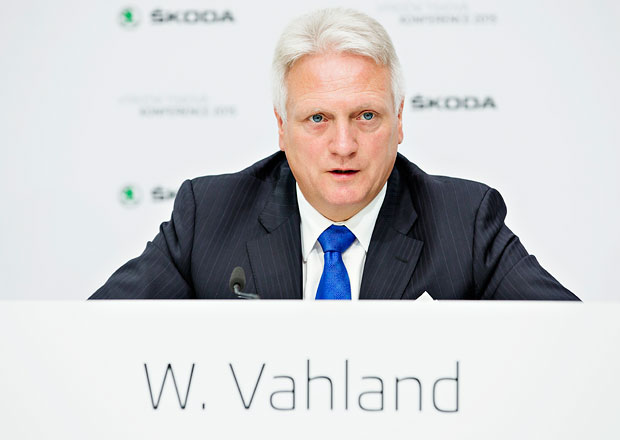 Potvrzeno: B�val� ��f �kody Vahland opou�t� Volkswagen