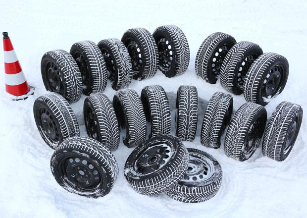 Zimní pneumatiky 165/70 R14 a 205/55 R16: Bez výhrad jen 5 z 35