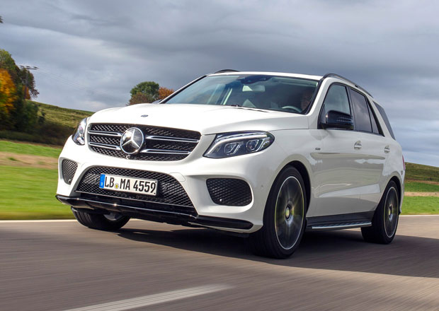 Mercedes-Benz GLE 450 AMG 4Matic: T�i litry, �est v�lc� a 270 kW