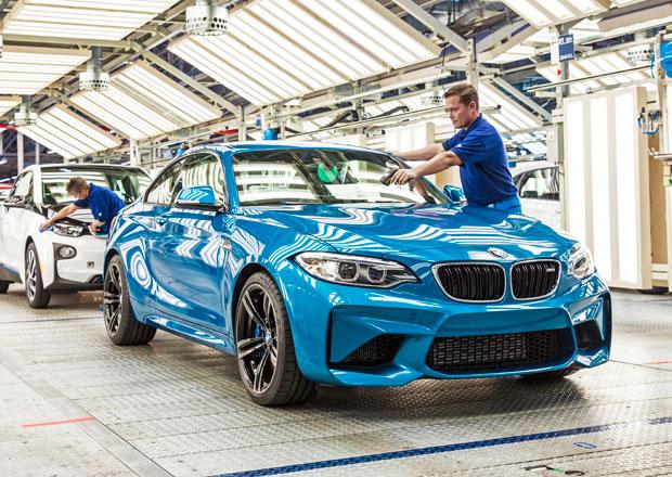 BMW M2: �estiv�lcov� kup� s 272 kW vstoupilo do v�roby