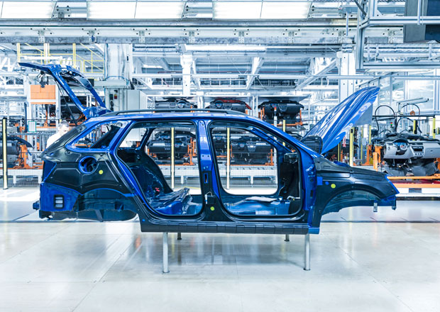 V�roba aut v �R roste, letos se u n�s vyrobilo 978.443 motorov�ch vozidel