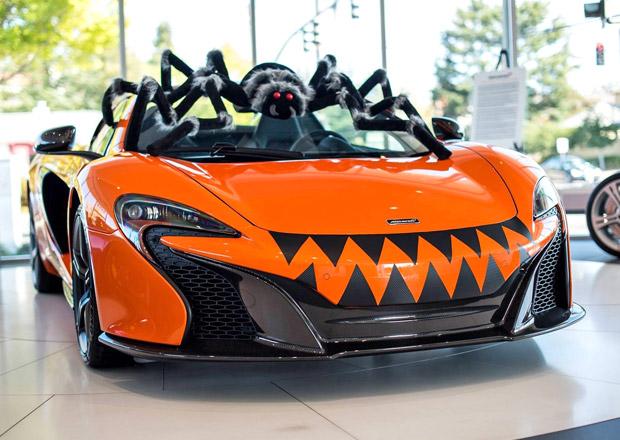 Halloweenský McLaren 650S Spider chce děsit obřím pavoukem