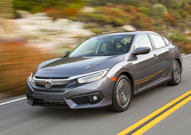 Honda Civic: 10. generace se začíná vyrábět, do Evropy zamíří v roce 2017