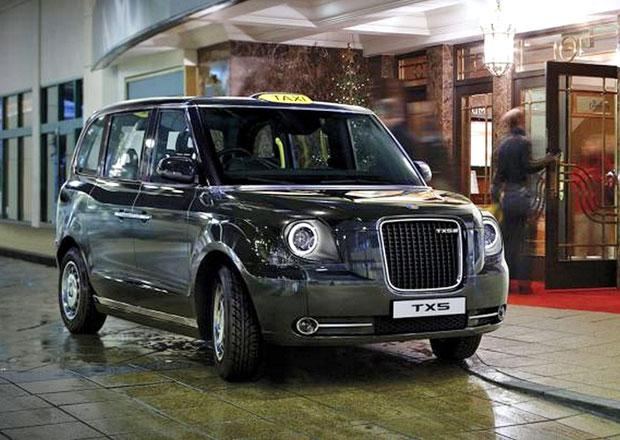 LTC TX5: Nový londýnský taxík je hybridní