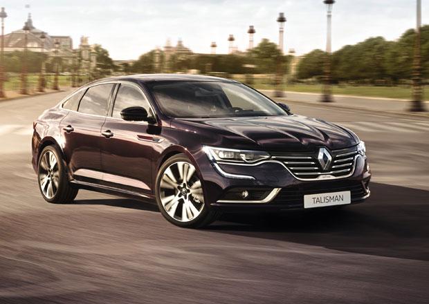 Renault Talisman odhaluje technick� data a v�bavu