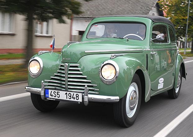 Reportáž: Historické vozy Škoda na vlastní kůži