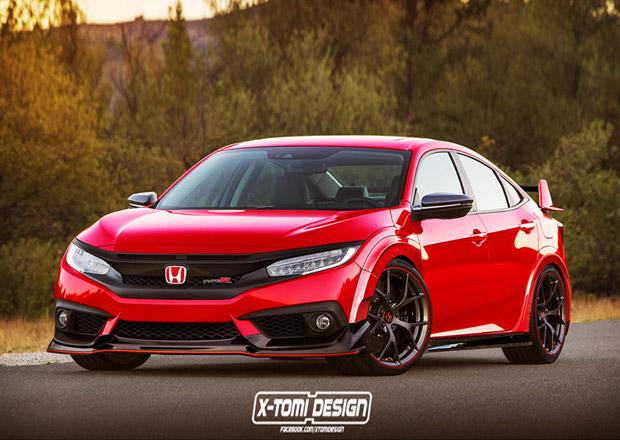 Honda Civic Type R 2018: Bude vypadat takhle?