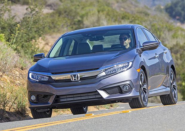 Honda Civic 2017: V Evropě pouze s turbomotory