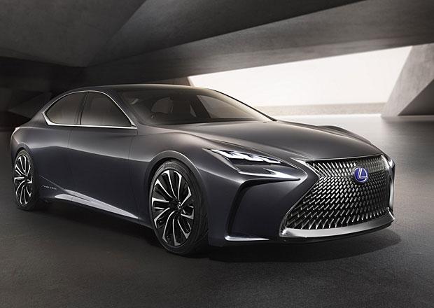 Lexus LF-FC jako předzvěst nové generace LS (+videa)