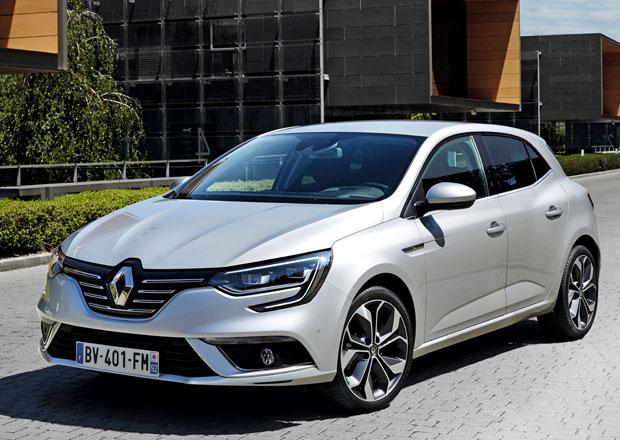 Nový Renault Mégane odhaluje technická data, zatím neoficiálně