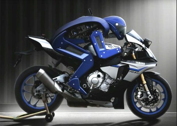 Video: Yamaha MotoBot: Bude robotický závodník rychlejší než Valentino Rossi?