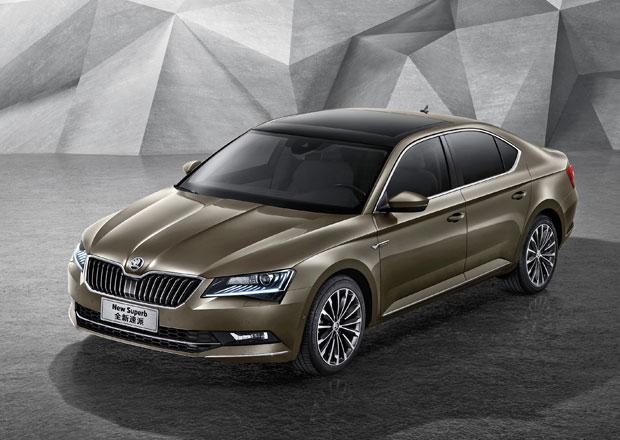 Škoda začala v Číně prodávat nový Superb