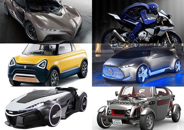 Tokyo Motor Show 2015: Přehlídka japonských šíleností