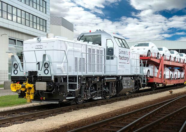 Audi má vlastní plug-in hybridní lokomotivu